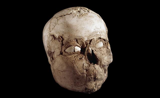 Name: The Jericho Skull. Period: NEOLITHIC c. 10,0000 B.C.E. - 2,000 B.C.E Date: 9,500 B.C.E.