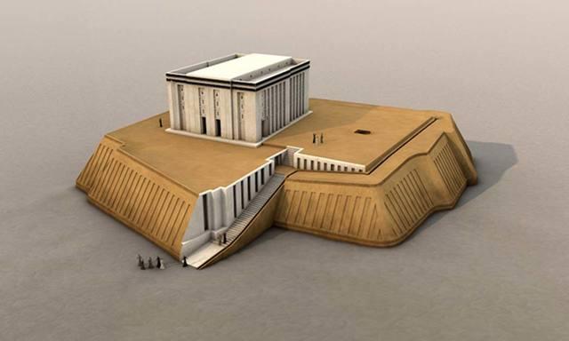 Name: Anu Ziggurat. Period: Ancient Mesopotamia c. 3000 B.C.E - 400 C.E. Date 3000 B.C.E.