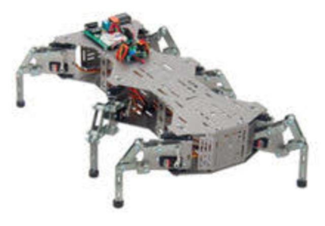 robot hexapodo