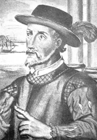 Juan Ponce De Leon Travels to America