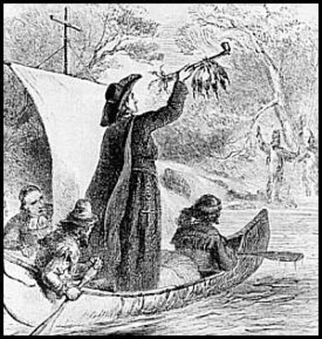 Louis Joliet and Jaques Marquette Sailed Mississippi River