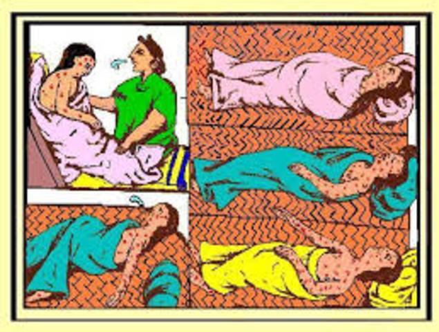 Primera gran epidemia de Viruela