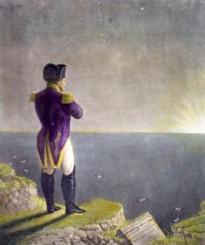 Napoleon exiled to Saint Helena island
