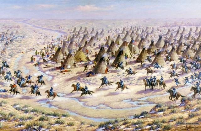 Massacres at Sand Creek