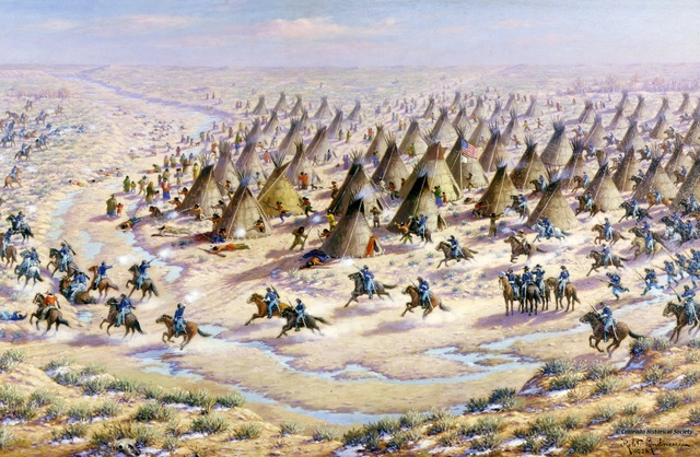 Massacres at Sand Creek