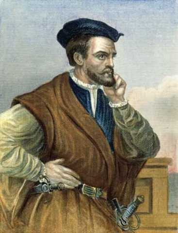Jacques Cartier: Exploered the St. Lawrence River