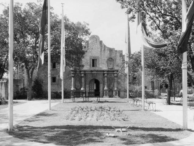Second Fair Park replica of the Alamo razed