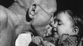 Timeline of Gandhi's life