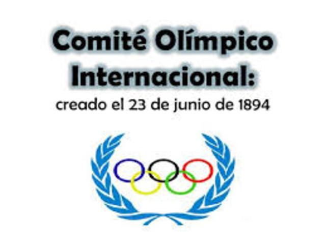 CREACION DEL COMITE OLIMPICO INTERNACIONAL(COI)