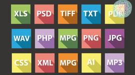Línea de tiempo formatos digitales timeline