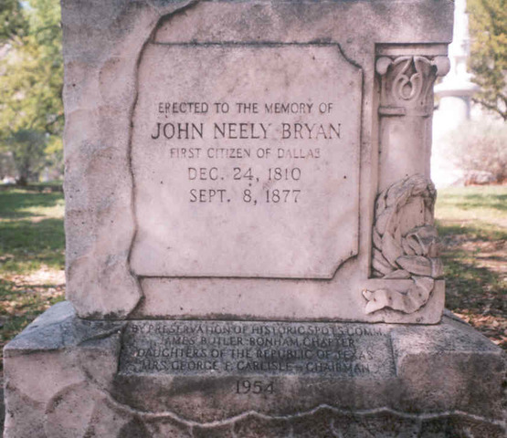 John Neely Bryan (1810-1877)