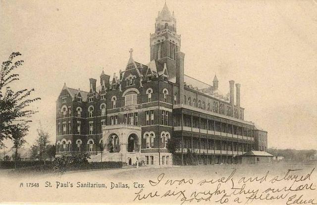 Cornerstone ceremony at St. Paul's Sanitarium