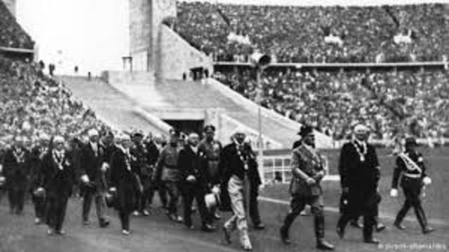 EL REGIMEN NAZI SE APROPIA DE LOS JUEGOS OLIMPICOS