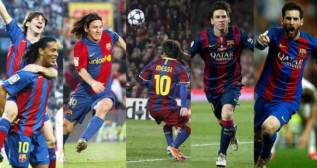 Los 10 mejores goles de su carrera