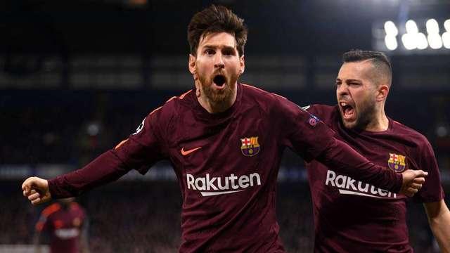"""Todas las """"victimas"""" de Lionel Messi el UEFA Champions League"""