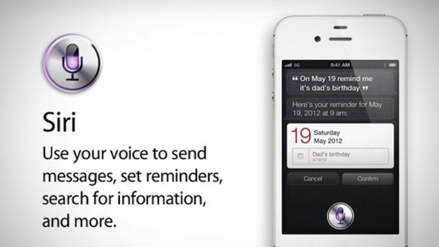 Apple integrated with the SIRI app, 2010