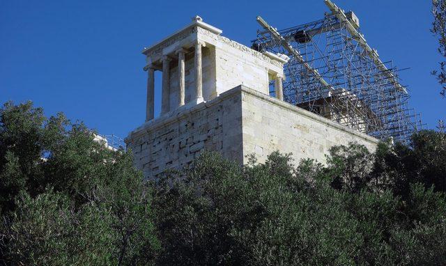 Name: Temple of Athena Nike on the Athenian Acropolis Period: Ancient Greece. Date: 421-05 B.C.E.