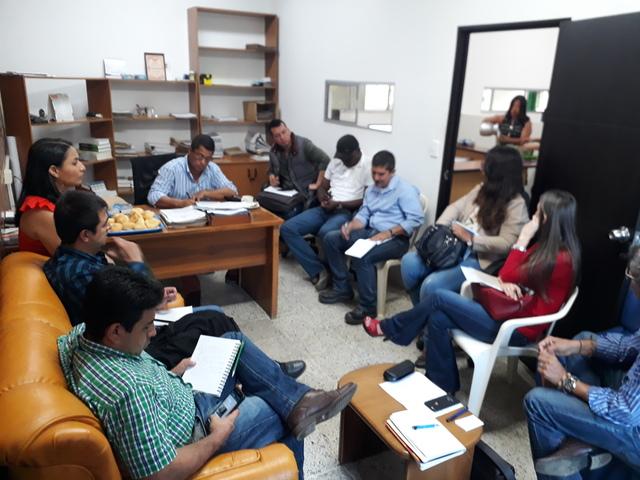 Reunión de modificación y actualización del plan de concertación Versión 3.  Santander de Quilichao