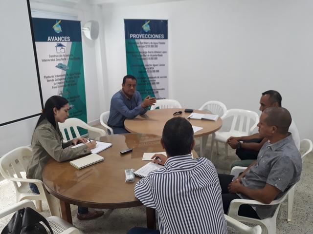 Reunión en el marco del componente socio institucional entre CINARA, EMQUILICHAO ESP Y AQUARISC en el marco del plan de Concertación Versión 3.  Santander de Quilichao