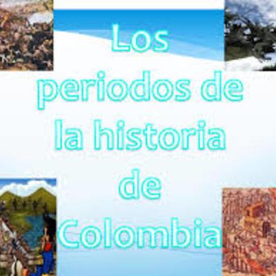 los 5 periodos históricos de Colombia timeline