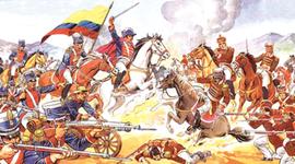 los 5 periodos de la historia de colombia timeline