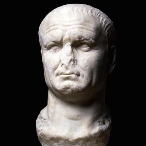 Name: Portrait of Vespasian Period: Ancient Rome. Date: 70-80 C.E.