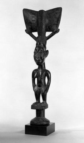 Name: Oshe Shango (Staff of Shango). Period: the art of Africa. Date:1970