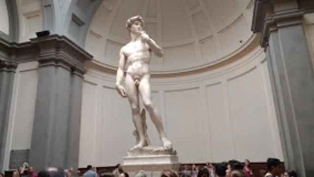 Name: David. Period: Renaissance. Artist:Michelangelo. Date:1504