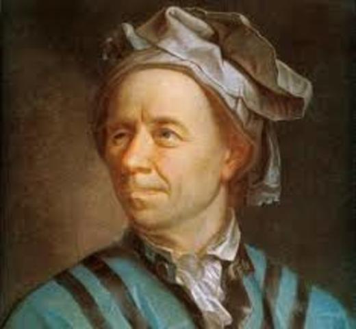 Primera definición Leonhard Euler