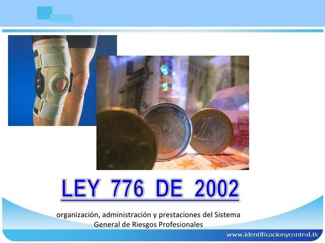 LEY 776 DE 2002, (Diciembre 17)