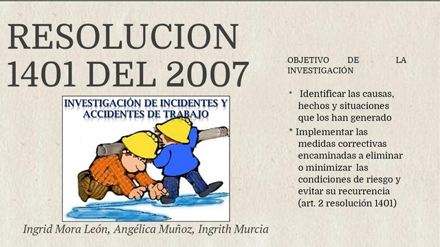 Resolución número 1401 (24 de Mayo de 2007)