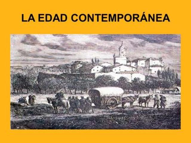 Edad Contemporánea 1789 D.C- Actualmente
