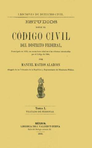 Código Civil para el Distrito Federal.