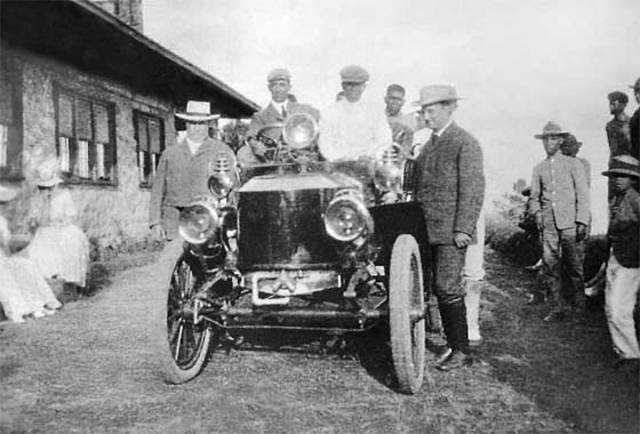 The First Motoring Presidency