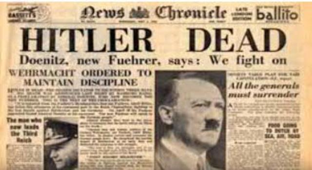 Se suicida Adolf Hittler