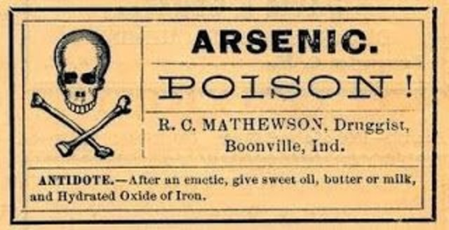 Etiquetado para venenos