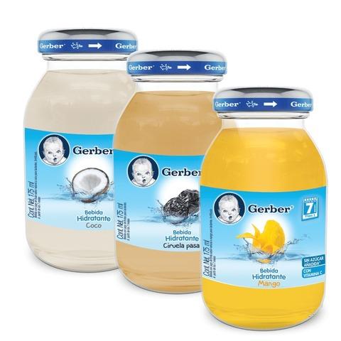 Alimentos para bebes envasados en vidrio