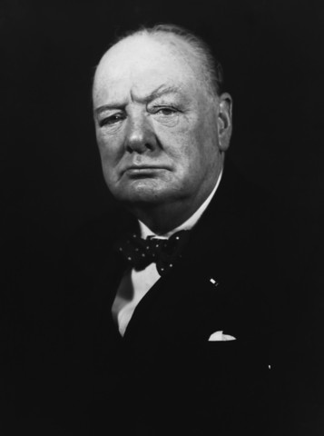 Winston Churchill Again Prime Minister of Great Britain
