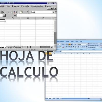 HISTORIA DE LA HOJA DE CÁLCULO timeline