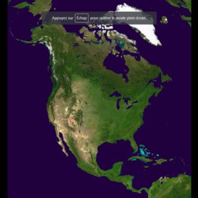 North America timeline
