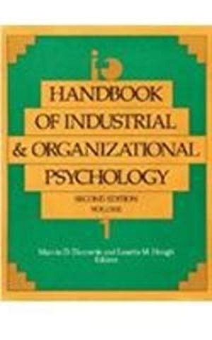 handbook of industrial and organizational psychology 1976 pdf