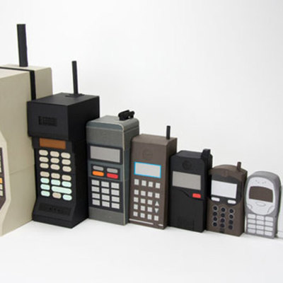 telefono celular timeline