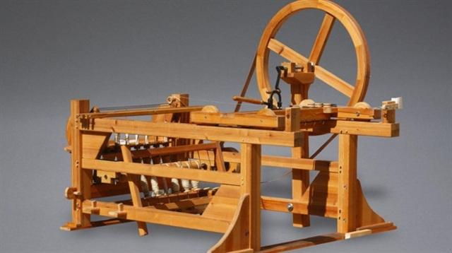 """""""Spinning Jenny"""" máquina textil de James Hargraves"""