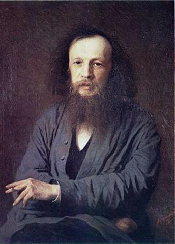 Dmitri Ivanovich Mendeléyev