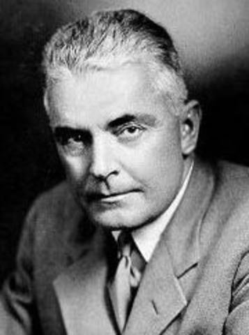 John B. Watson (1878 - 1958)