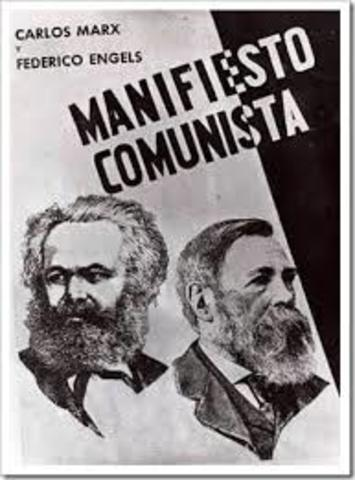 Marx Weber- Manifiesto Comunista