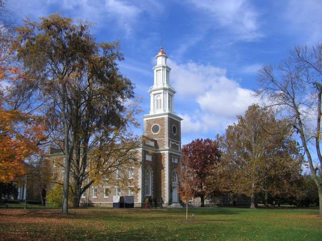 Graduated from Hamilton College in New York