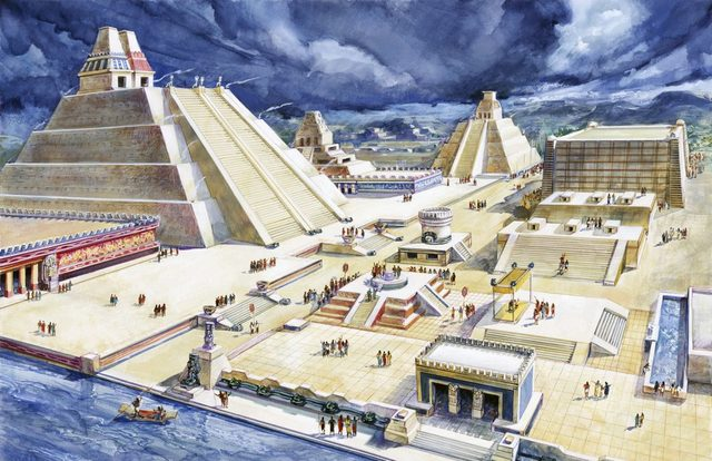 Primeros Comerciantes en la fundacion de Tenochtitlan