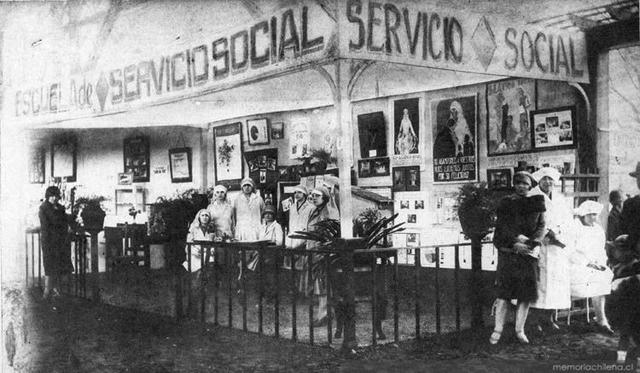 Primera escuela de servicio social.