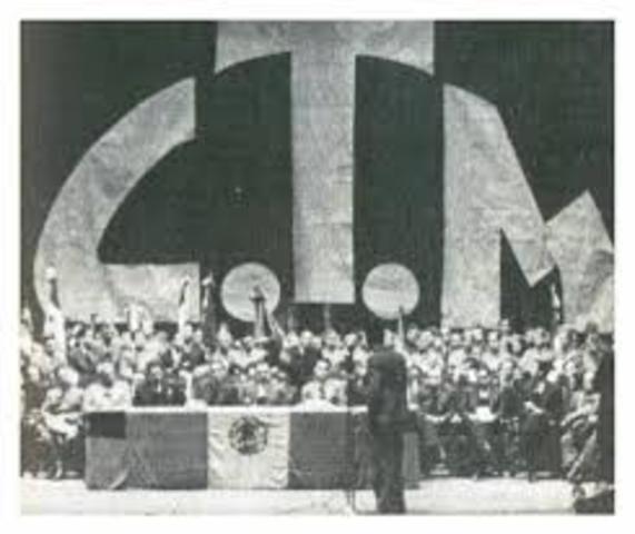 Confederación de Trabajadores de México (CTM).